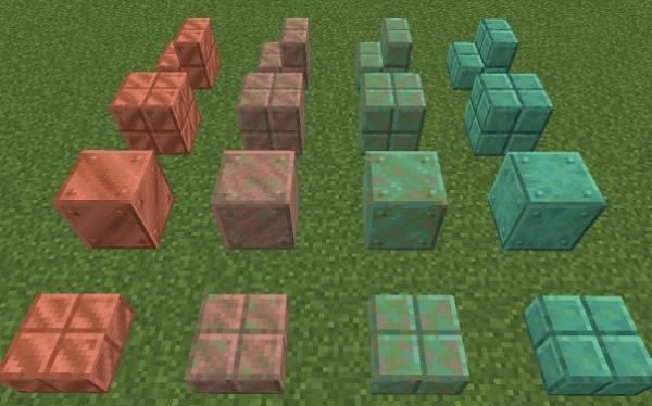 マイクラ 銅ブロック一覧