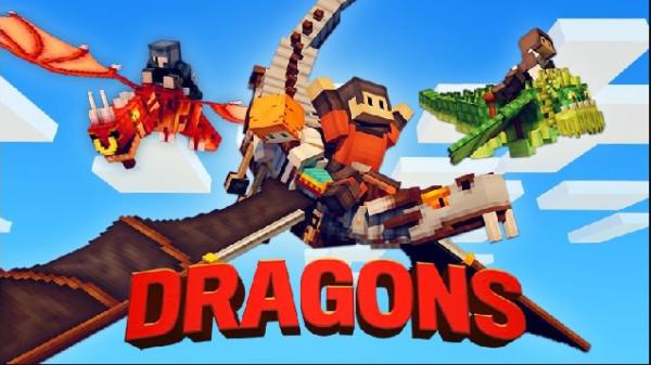 マイクラ 世界テンプレート Dragons(ドラゴン)