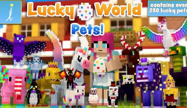 マインクラフト 世界 Lucky World Pets!