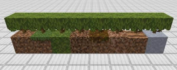 マイクラ ツツジを置けるブロック
