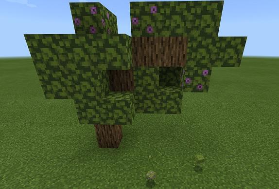 マイクラ ツツジの木
