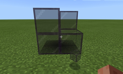 マイクラ 遮光ガラスアイテム化
